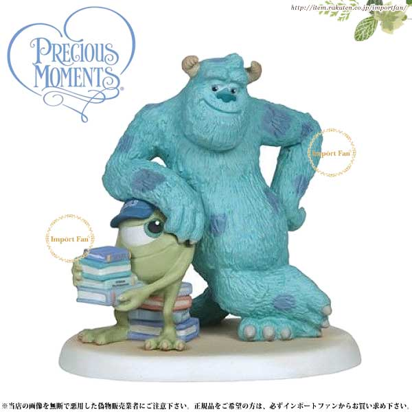 プレシャスモーメンツ サリー モンスターズ・インク Lean On Me 134706 ディズニー ピクサー Precious Moments Monsters Inc □