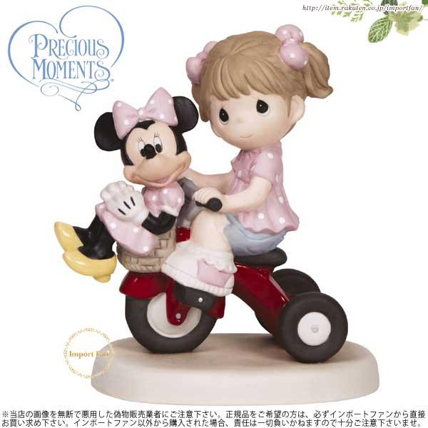 プレシャスモーメンツ ミニーマウス 少女 友人のミニーマウス 139009 Precious Moments There's Always Room For A Friend - Girl 【ポイント最大43倍!お買物マラソン】