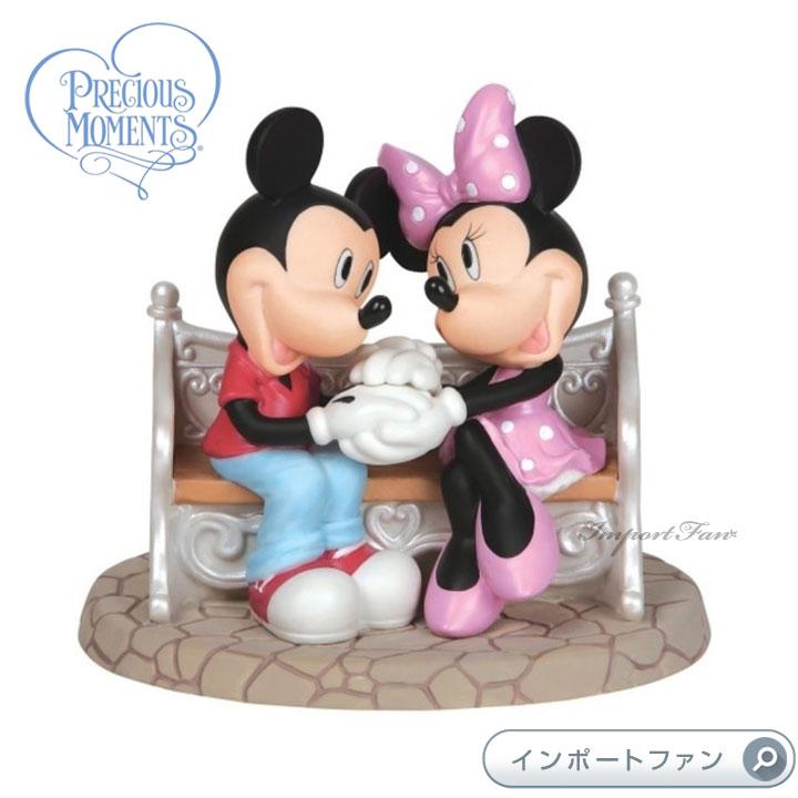 プレシャスモーメンツ 甘い毎日 ミッキーマウス ミニーマウス ディズニー 142715 Every Day Is Sweeter With You Precious Moments □