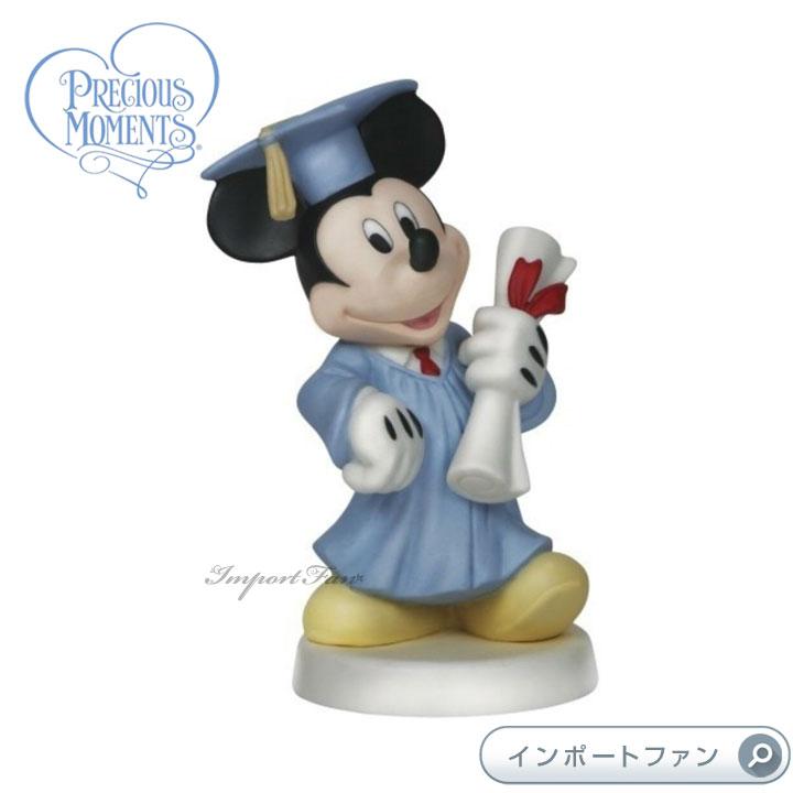 プレシャスモーメンツ 卒業おめでとう! ミッキーマウス ディズニー 144701 Congrats! You Did it Mickey Mouse Precious Moments 【ポイント最大42倍!お買物マラソン】