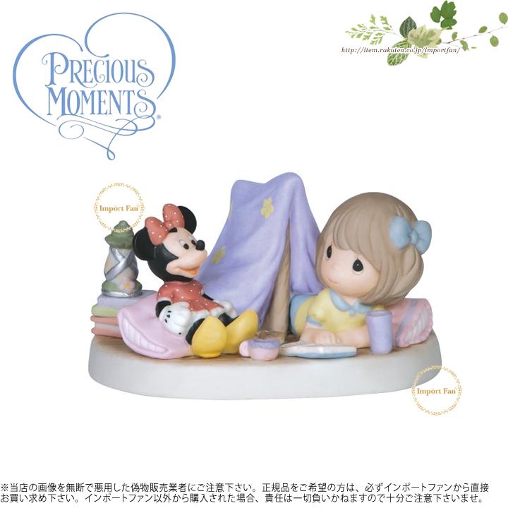 プレシャスモーメンツ 毎日あなたと一緒に冒険! ミニーマウス ディズニー 149031 Every Day Is An Adventure With You Precious Moments □