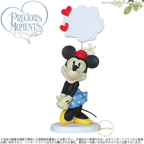 プレシャスモーメンツ ミニーマウス メッセージボード 151700 Precious Moments My Thoughts Are Filled With You □