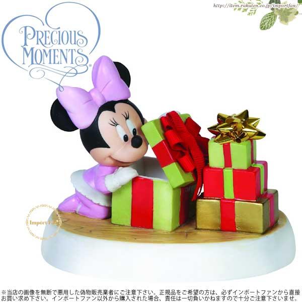 プレシャスモーメンツ ベビー ミニー ホリデーサプライズ 151706 Precious Moments Holiday Surprise クリスマス □