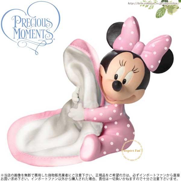 プレシャスモーメンツ ベビー ミニーマウス 抱きしめて152700 ディズニー Precious Moments Hugs & Cuddles - Minnie Mouse □
