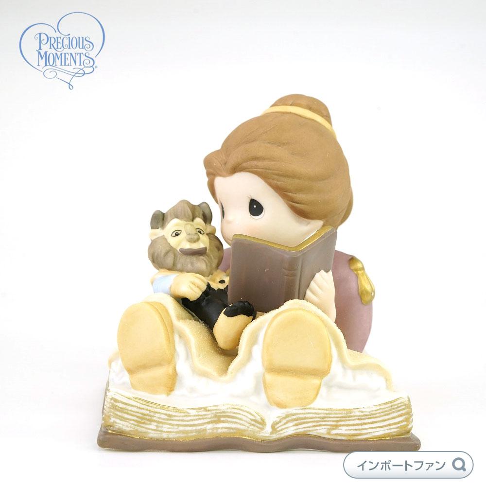 プレシャスモーメンツ ベルとビーストの人形 それからずっと幸せに 美女と野獣 ディズニー 153012 Happily Ever After - Precious Moments Precious Moments 【ポイント最大43倍!お買物マラソン】