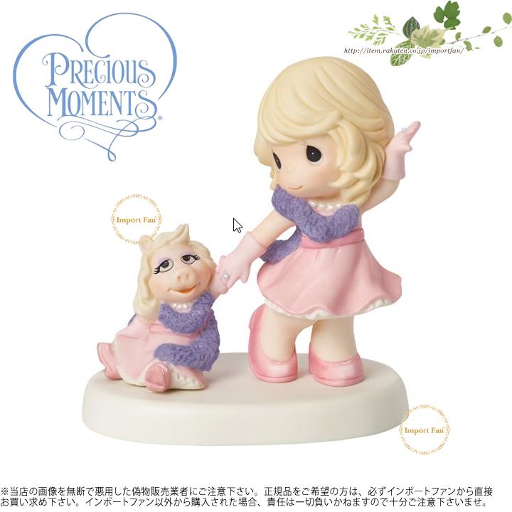 プレシャスモーメンツ 私たちの友情は素晴らしいです ミス・ピギー マペット・ショー 154014 Our Friendship Is Fabulous Figurine Precious Moments 【ポイント最大43倍!お買物マラソン】
