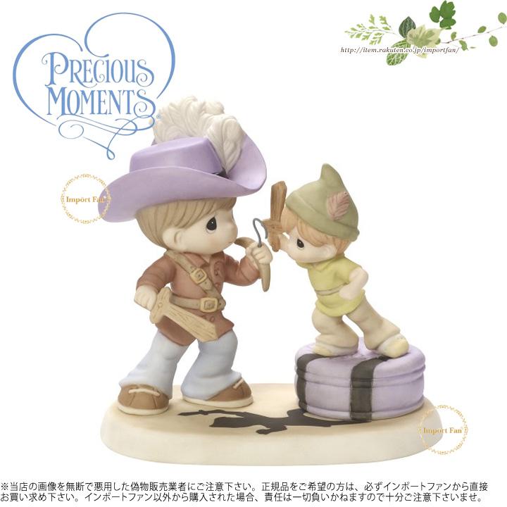 プレシャスモーメンツ 決して成長しない キャプテンフック ピーターパン ディズニー 164044 Never Grow Up Bisque Porcelain Figurine Precious Moments 【ポイント最大43倍!お買物マラソン】 【ポイント最大43倍!お買物マラソン】
