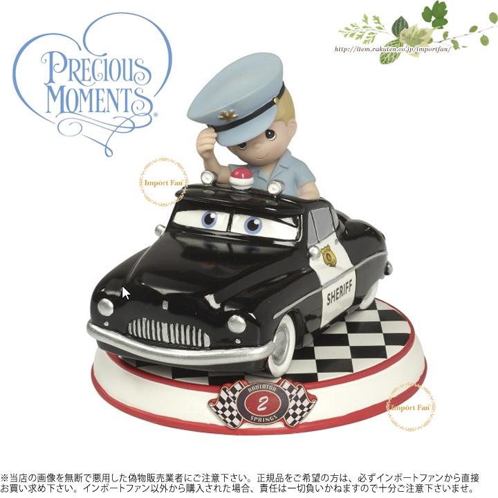 プレシャスモーメンツ シェリフ カーコレクション2 カーズ 164432 Sheriff Resin Figurine, Cars Collection 2 Precious Moments【ポイント最大43倍!スーパー セール】