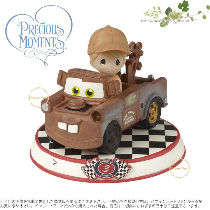 プレシャスモーメンツ メーター カーズコレクション3 カーズ 164433 Mater Resin Figurine, Cars Collection 3 Precious Moments □