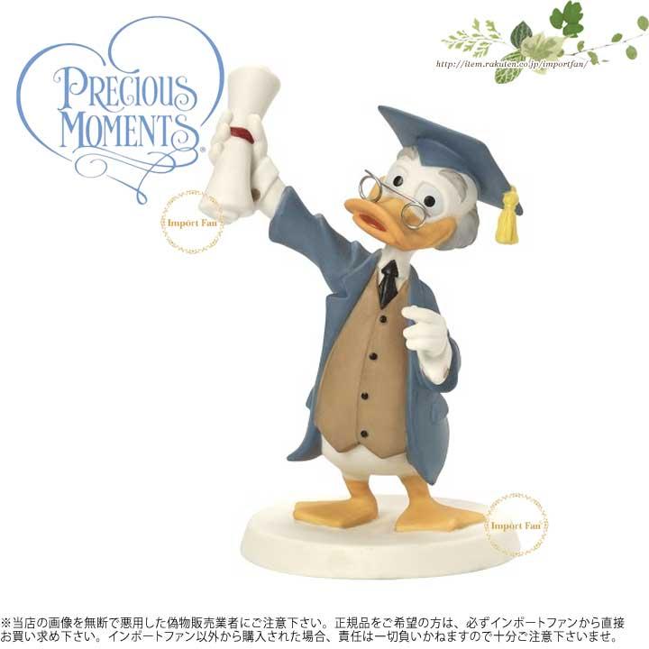 プレシャスモーメンツ おめでとう、あなたスマートタイプ ルートヴィヒ・フォン・ドレイク ディズニー 164703 Congratulations, You Smartypants, You! Bisque Porcelain Figurine Precious Moments 【ポイント最大43倍!お買物マラソン】