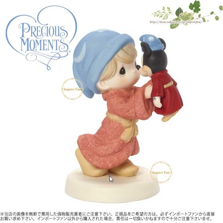 プレシャスモーメンツ あなたとすべてが魔法です ミッキーマウス ディズニー 171091 Disney Mickey Mouse Figurine Everything With You Is Magical, Porcelain Precious Moments 【ポイント最大43倍!お買物マラソン】