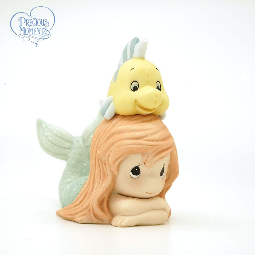 プレシャスモーメンツ 人生は良い友達と良いです アリエル リトル・マーメイド 171094 Disney The Little Mermaid Figurine Life Is Better With A Good Friend, Porcelain Precious Moments 【ポイント最大43倍!お買物マラソン】