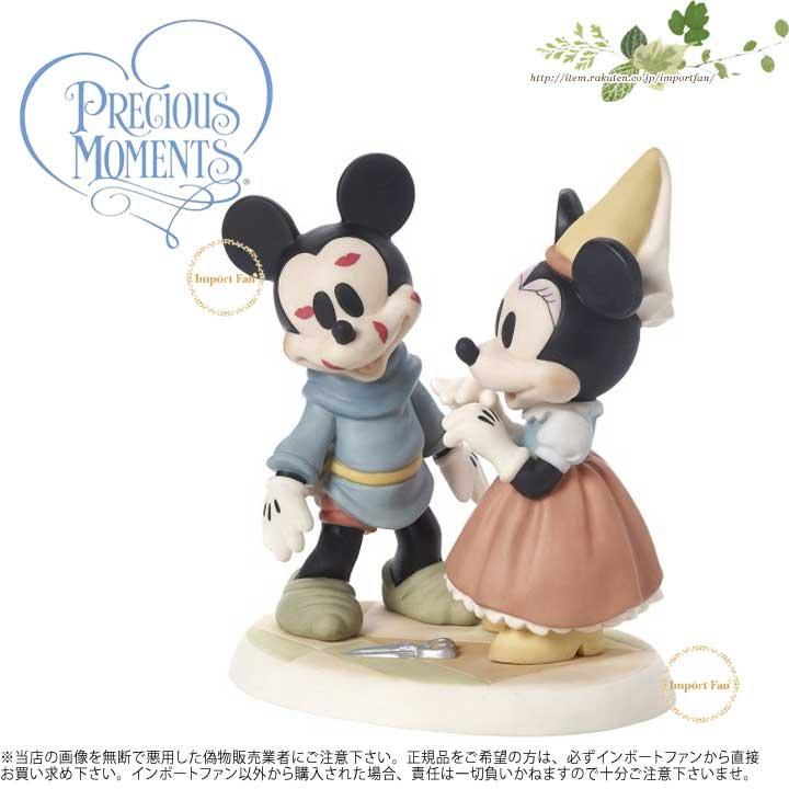 プレシャスモーメンツ 君は驚くばかりだよ ミッキーマウス ミニーマウス 171702 Disney Brave Little Tailor Figurine You're Sew Wonderful Porcelain Precious Moments 【ポイント最大43倍!お買物マラソン】