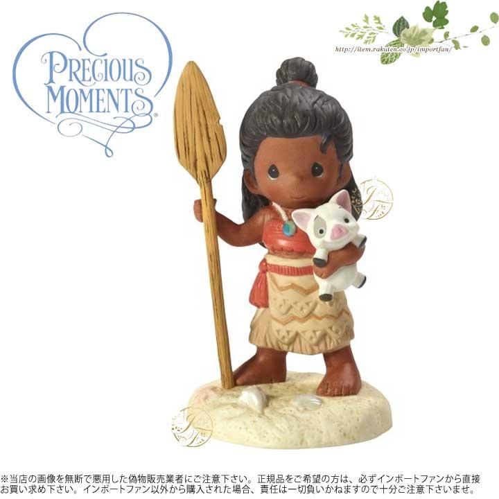プレシャスモーメンツ あなたの道を見いだす モアナ モアナと伝説の海 172057 Find Your Way Disney Moana Figurine, Porcelain Precious Moments 【ポイント最大43倍!お買物マラソン】