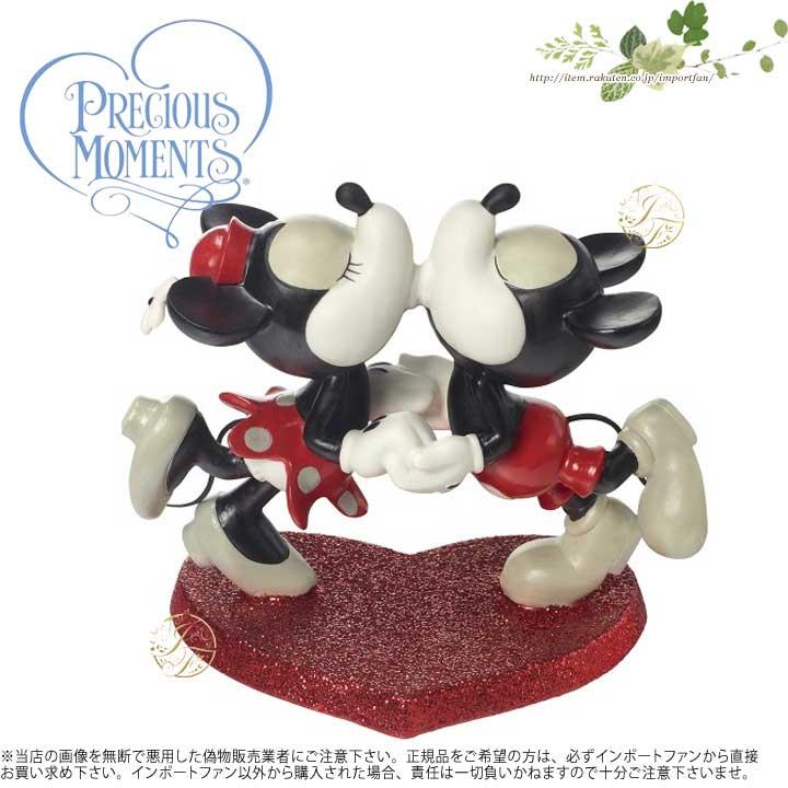 プレシャスモーメンツ 私の心はあなたがそれを知ったときに知っていた ミッキーマウス ミニーマウス 172721 Disney Mickey Mouse And Minnie Mouse Figurine, When My Heart Found You It Knew, Porcelain Precious Moments 【ポイント最大43倍!お買物マラソン】