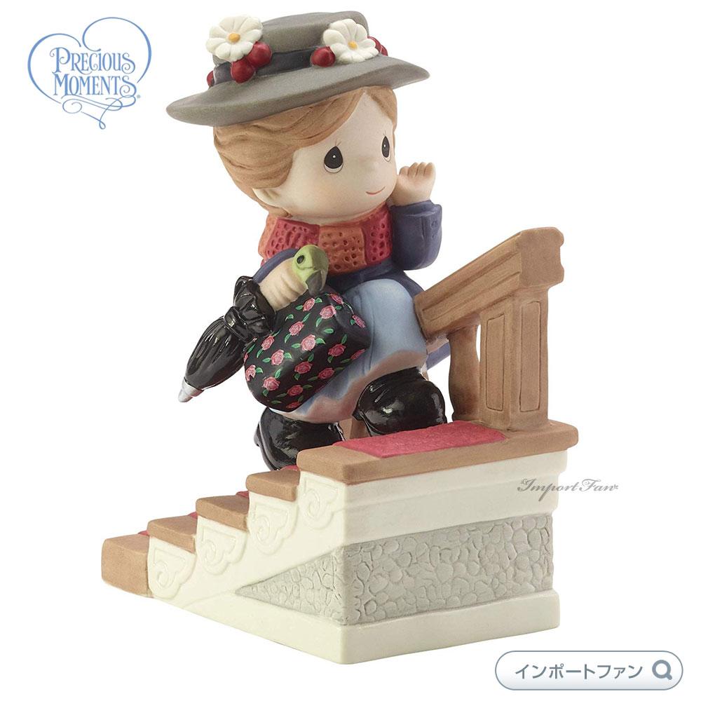 プレシャスモーメンツ メリー ポピンズ ディズニー 182093 Disney Mary Poppins Figurine, You Have Such A Cheery Disposition, Bisque Porcelain Precious Moments 【ポイント最大44倍!お買い物マラソン セール】
