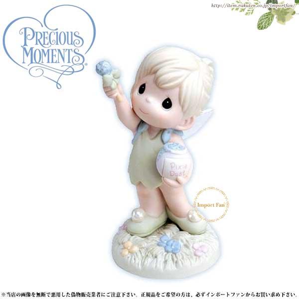 プレシャスモーメンツ ティンカーベル Always Reach For The Stars 720020 ディズニー ピーターパン Precious Moments Tinkerbell □
