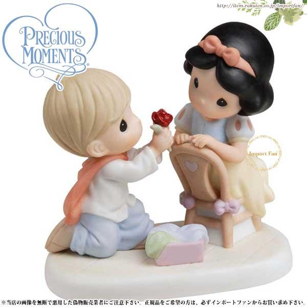 プレシャスモーメンツ 白雪姫 With A Smile And A Song 740007 ディズニー Precious Moments Snow White 【ポイント最大43倍!お買物マラソン】