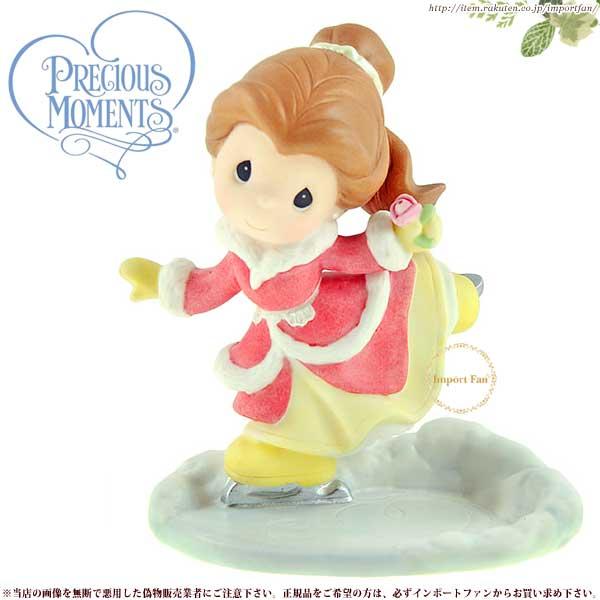 プレシャスモーメンツ ベル Your Beautiful Heart Warms The Coldest Days 910040 美女と野獣  Precious Moments Belle □
