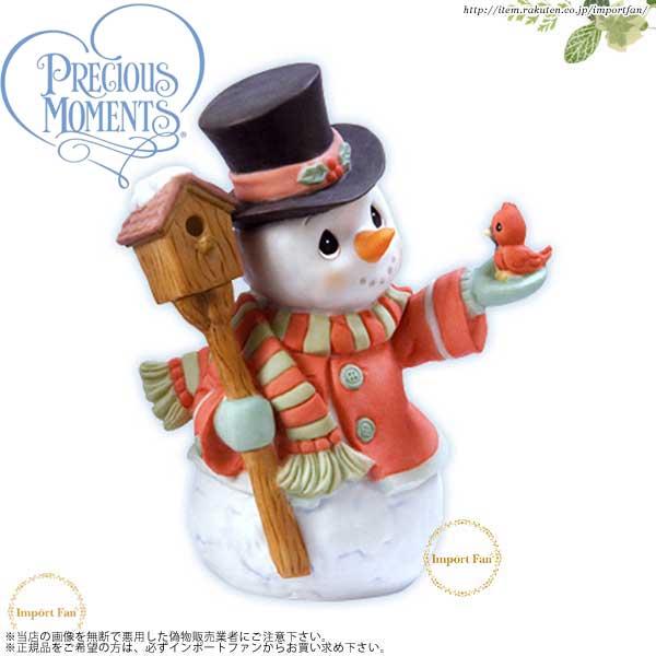 プレシャスモーメンツ クリスマス スノーマン Home For The Holidays 101071 Precious Moments 【ポイント最大44倍!お買い物マラソン セール】