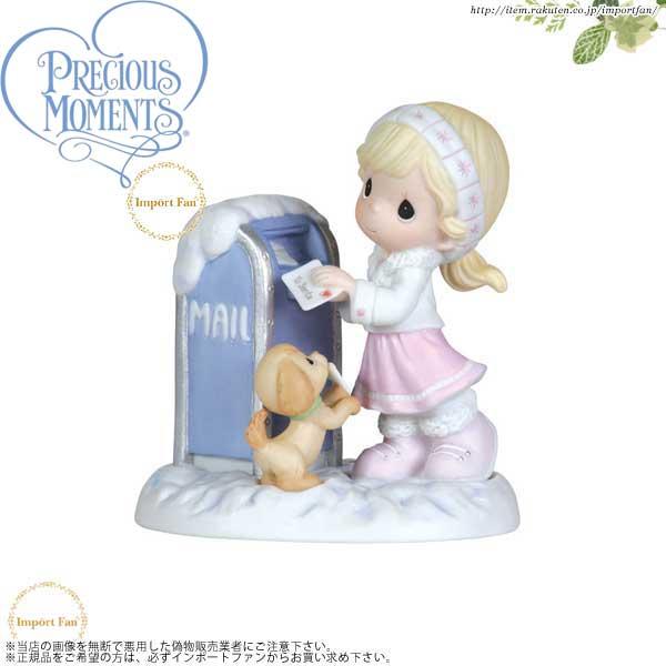 プレシャスモーメンツ サンタクロースへの手紙 Dear Santa 111010 Precious Moments □