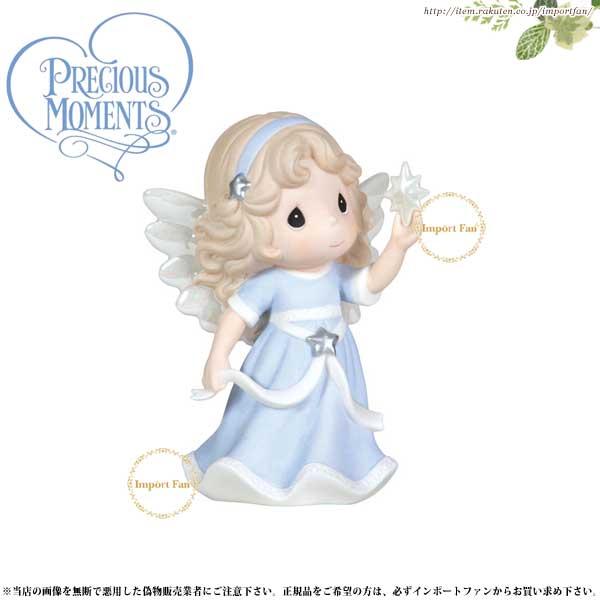 プレシャスモーメンツ 星に願いを Hope Shall Light The World 111045 Precious Moments □