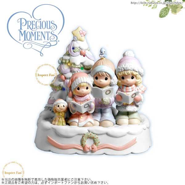 プレシャスモーメンツ クリスマス オルゴール Sing Songs Of Praise To Him 4003176 Precious Moments □