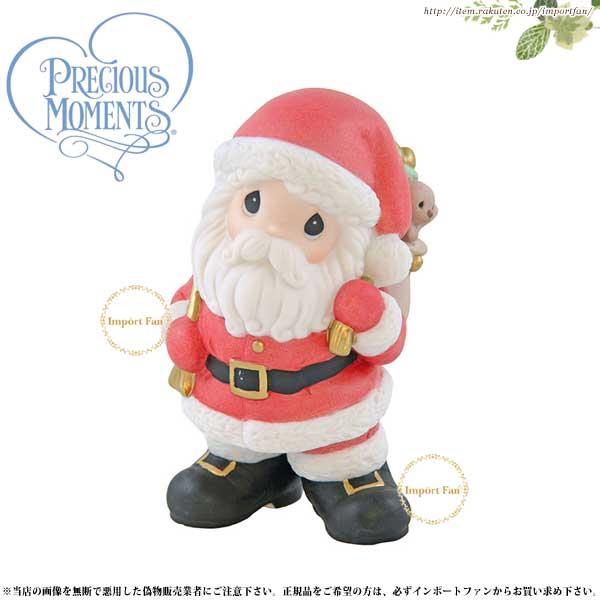 プレシャスモーメンツ クリスマス サンタクロース Believe In The Magic Of Christmas 910062 Precious Moments □