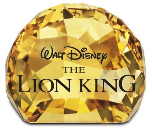 スワロフスキー Swarovski ディズニー Disney 1055087 売り込み 春の新作続々 タイトルプレート ライオンキング
