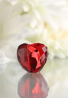 スワロフスキー Swarovski ラブハート ライトシャム Love Heart, Light Siam, S  1096727 【ポイント最大43倍!お買物マラソン】