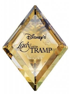 スワロフスキー Swarovski ディズニー Disney わんわん物語 タイトルプレート Lady and the Tramp 1096771 【ポイント最大43倍!お買物マラソン】