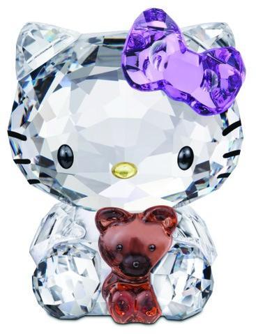 スワロフスキー Swarovski Hello Kitty Bear  ハローキティ ベア 1096879□