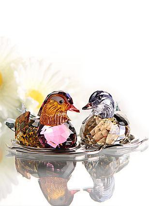 スワロフスキー Swarovski マンダリンダック トパーズ ラージ 鳥 Mandarin Ducks,Topaz large 1141631 【ポイント最大43倍!お買物マラソン】オシドリ
