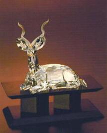 スワロフスキー Swarovski 1994年 SCS会員限定作品 シマカモシカ クーズー 175703 Kudu 【ポイント最大43倍!お買物マラソン】
