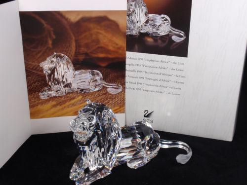 スワロフスキー 1995年 SCS会員限定 ライオン 185410 Swarovski Annual Edition 1995 Lion 【ポイント最大43倍!お買物マラソン】