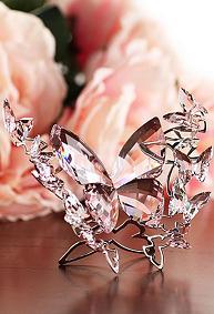 スワロフスキー Swarovski バタフライ ロザリン (L) Butterfly, Rosaline, Large 5031520 置物 【ポイント最大43倍!お買物マラソン】
