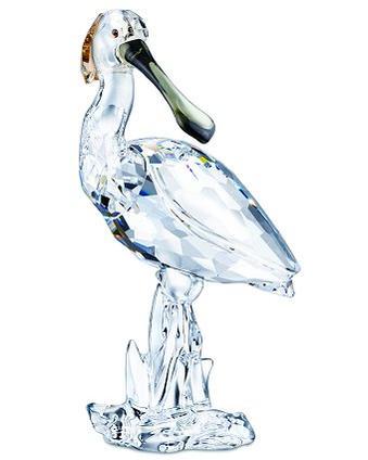 スワロフスキー Swarovski Spoonbill ヘラサギ 鳥 931746 □