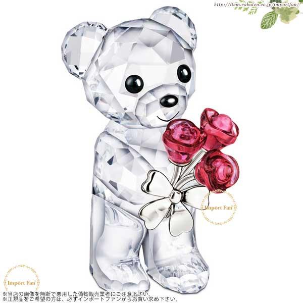 スワロフスキー 2012年度限定 クリスベア バラ 1096731 Swarovski Kris Bear Red Roses For You 【あす楽】【ポイント最大43倍!お買物マラソン】