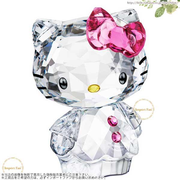 スワロフスキー ハローキティ ピンクボウ 1096877  Swarovski Hello Kitty Pink Bow □