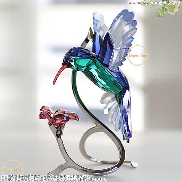 スワロフスキー ハチドリ 鳥 1188779  Swarovski Paradise Hummingbird □