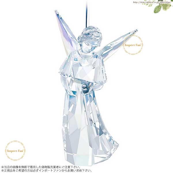 【マラソン限定2%オフクーポン】スワロフスキー エンジェル オーナメント 2014年度限定品 クリスマス 天使 5047231 Swarovski Crystal Angel Ornament, Annual Edition 2014 □