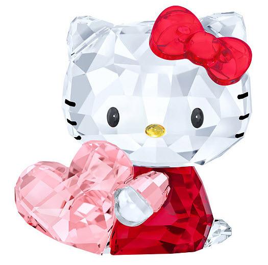 スワロフスキー ハローキティ ピンク ハート 5135886 Swarovski Hello Kitty Pink Heart□
