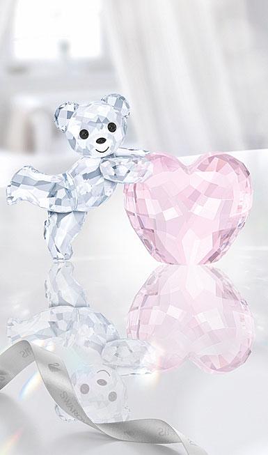 スワロフスキー クリスベア ピンク ハート 5265323 Swarovski Kris Bear - Pink Heart【ポイント最大42倍!お買物マラソン】