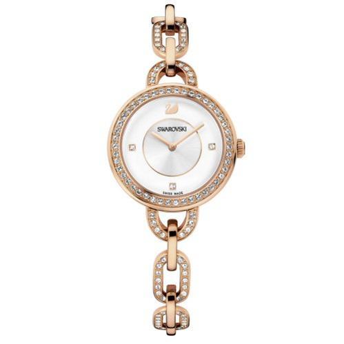 スワロフスキー Swarovski 腕時計 Aila rose gold PVD 1094379 □