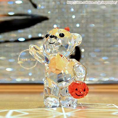スワロフスキー 2011年限定 クリスベア ハロウィン 1096026 Swarovski Halloween Kris Bear □