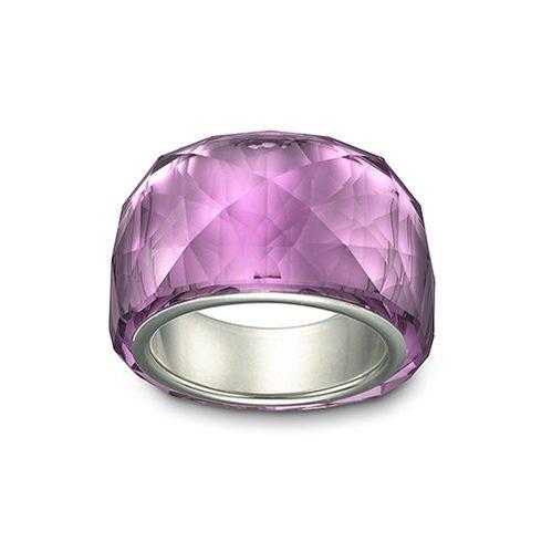 スワロフスキー Swarovski 指輪 Nirvana Petite Amethyst アメジスト リング 1103227 アクセサリー□