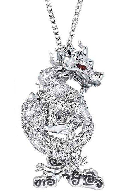 スワロフスキー 2012年 SCS会員限定 ドラゴン ネックレス 1124113 Swarovski SCS 2012 Pendant Dragon □