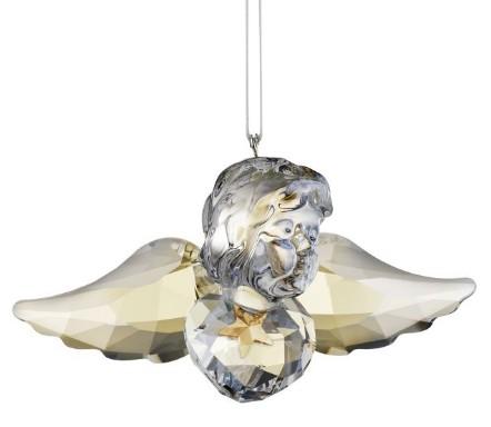 スワロフスキー Swarovski エンジェルオーナメント ミカエル Angel Ornament Michael 1140003 オーナメント □