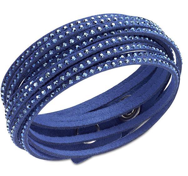 スワロフスキー スレイク ダーク ブルー ブレスレット 5037393 Swarovski Slake Dark Blue Bracelet 【ポイント最大43倍!お買物マラソン】