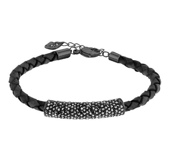 スワロフスキー ストーン ブレスレット ブラック 5083365 Swarovski Stone Bracelet□